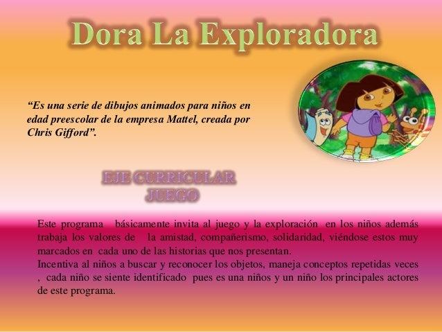 Estos programas pueden servir de ejemplo para cambiar las ideas que en ocasiones surgen en los niños sobre las dificultade...