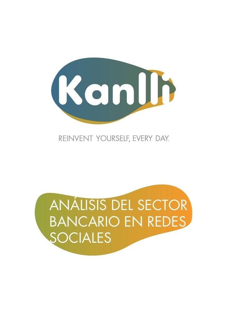 ANÁLISIS DEL SECTORBANCARIO EN REDESSOCIALES
