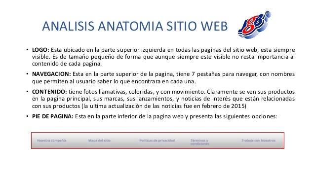 Analisis Sitios Web JGB