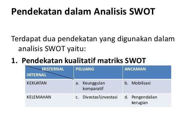 Analisis Swot Bep Dan Proposal Usaha