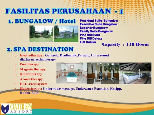 Analisis Swot on Ciater Spa Resort