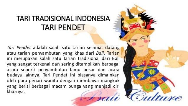 Analisis Tari Tradisional Indonesia
