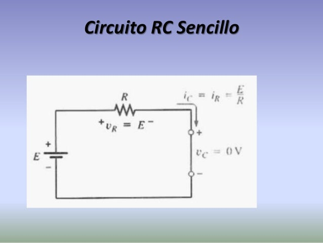 Circuito Rc : Analisis transitorio en circuitos para rc