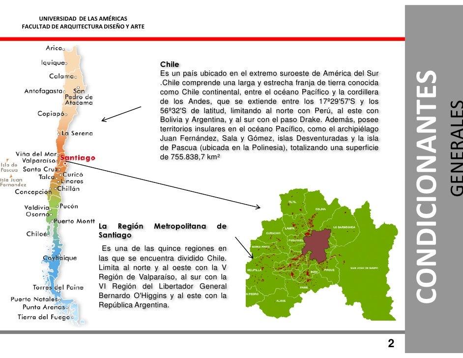 UNIVERSIDAD DE LAS AMÉRICAS FACULTAD DE ARQUITECTURA DISEÑO Y ARTE                                               Chile    ...