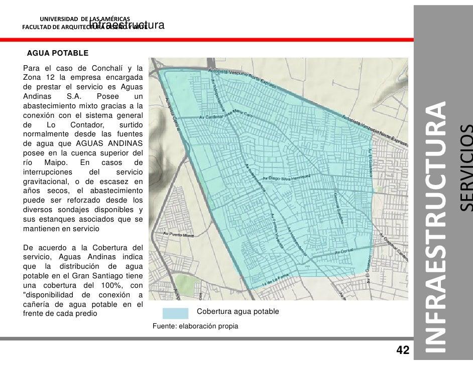 UNIVERSIDAD DE LAS AMÉRICAS                     Infraestructura FACULTAD DE ARQUITECTURA DISEÑO Y ARTE     AGUA POTABLE Pa...