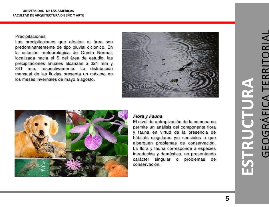 UNIVERSIDAD DE LAS AMÉRICAS FACULTAD DE ARQUITECTURA DISEÑO Y ARTE      Precipitaciones  Las precipitaciones que afectan a...