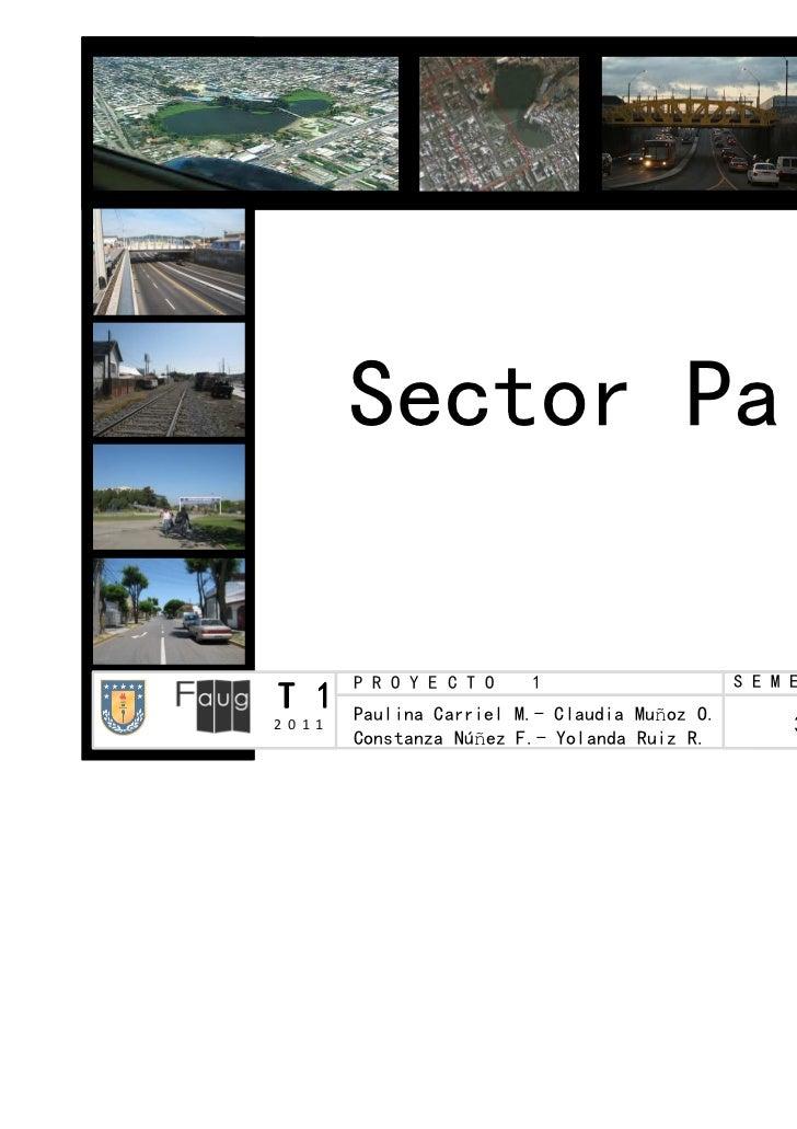 Sector Paicaví          P R O Y E C T O   1                    SS EE MM EE SS TT RR EE S E C C I Ó NT 1       Paulina Carr...