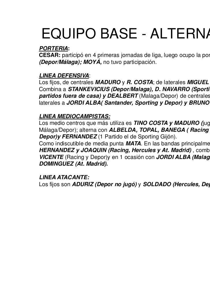 Analisis Variantes Tácticas Valencia Temporada 2010 2011 evaristo Slide 2