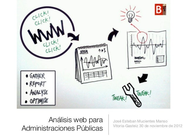 Análisis web para   José Esteban Mucientes Manso                            Vitoria-Gasteiz 30 de noviembre de 2012Adminis...