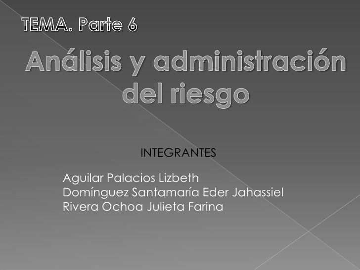 INTEGRANTES  Aguilar Palacios Lizbeth Domínguez Santamaría Eder Jahassiel Rivera Ochoa Julieta Farina