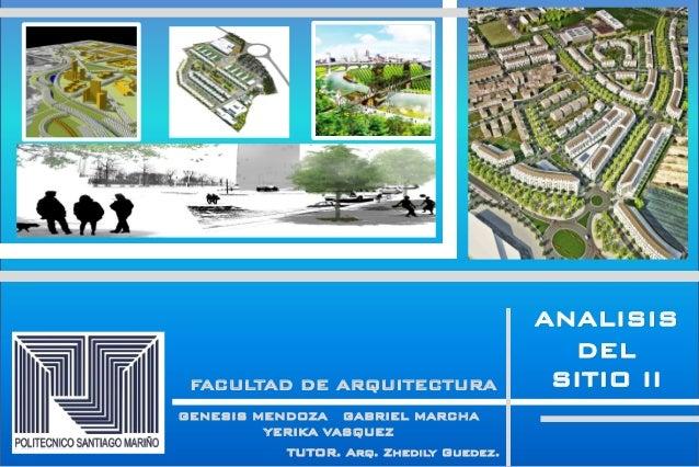 Analisis y conclusion iii dise o vii psm arquitectura for Sitios web de arquitectura
