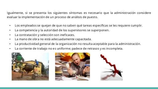 Igualmente, si se presenta los siguientes síntomas es necesario que la administración considere evaluar la implementación ...
