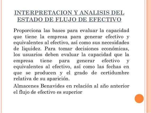 CONCLUSIONES:    En el 2010 la empresa mejoro en cuanto a    actividad operacional refleja un flujo positivo en    relaci...