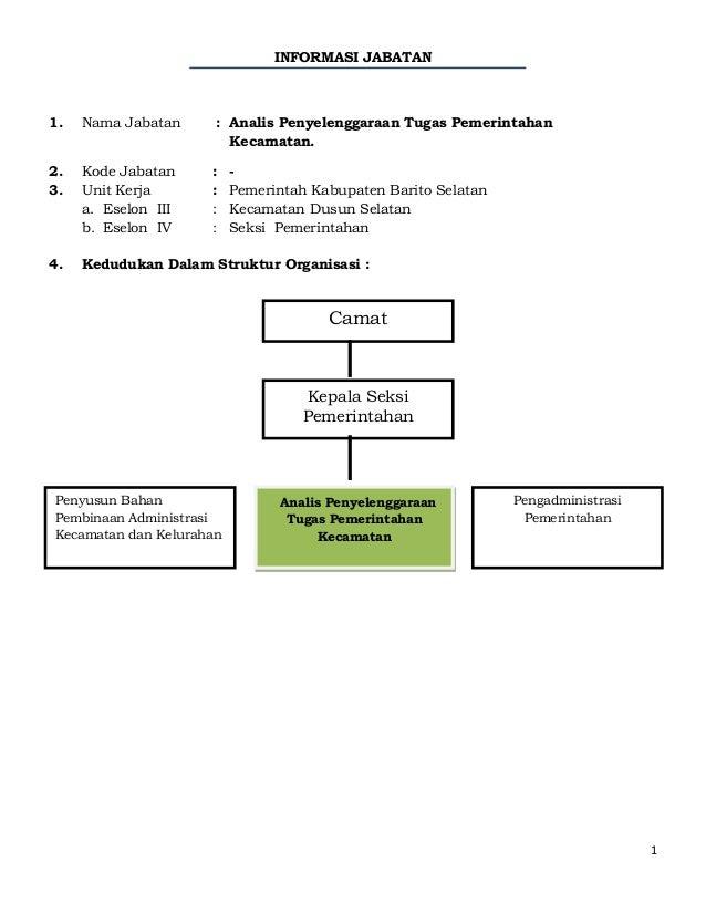 Analis Penyelenggaraan Tugas Pemerintahan Kecamatan