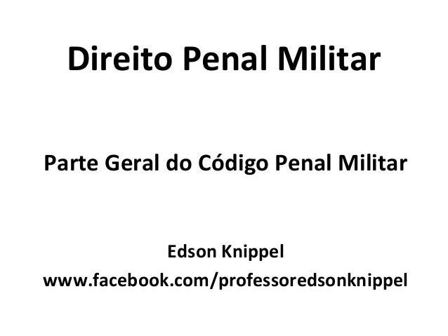 Analista   mpu - direito penal militar - 10-05 Slide 3