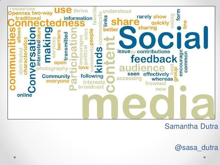 Samantha Dutra  @sasa_dutra