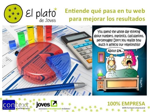 En#ende qué pasa en tu web   para mejorar los resultados                         100% EMPRESA   ...