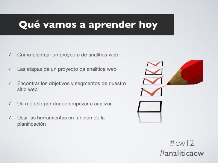 Un plan de Analitica Web Slide 3