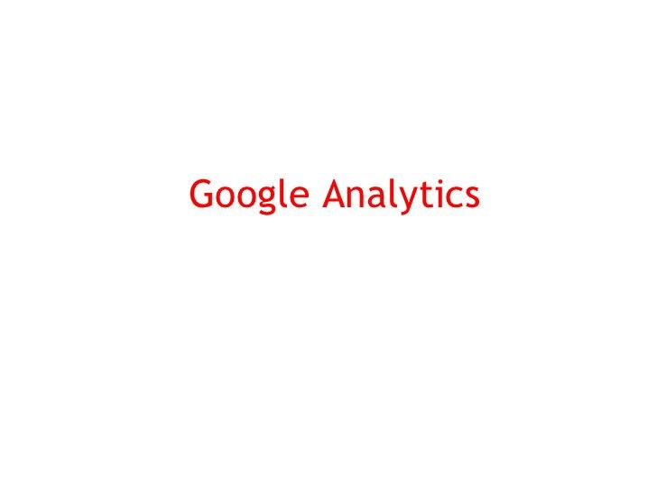 Metodología de Google Analytics