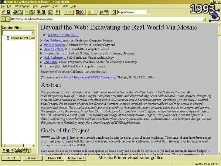 Netscape: Primeras páginas web