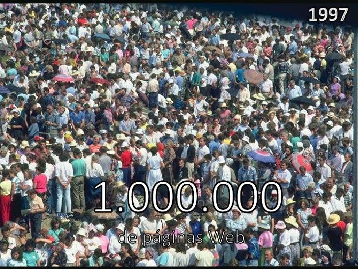 Estallido de la Burbuja de Internet      +20 Millones de sitios webLos sitios web necesitan rentabilidad