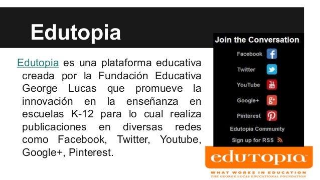 Analizando una cuenta en twitter @edutopia