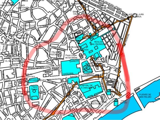 Mapa De Sevilla Capital.Analizar El Plano Urbano De Sevilla Capital