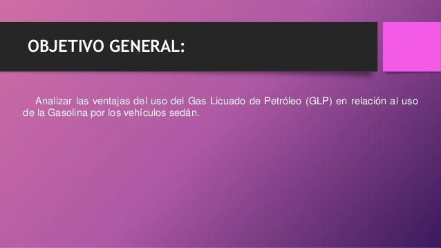 Uso Del Gas Licuado
