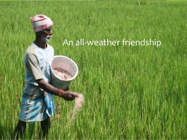 An all-weather friendship