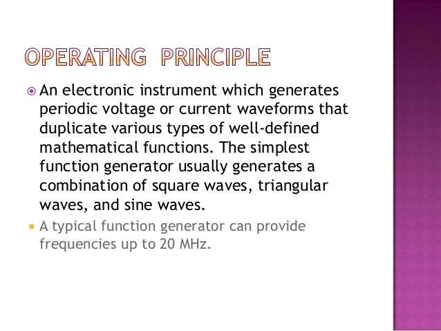 Analog function-generator