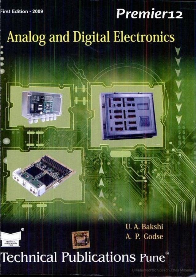 analog electronics circuits by bakshi pdf