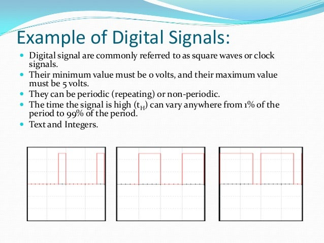 Difference between Analog and Digital Signals