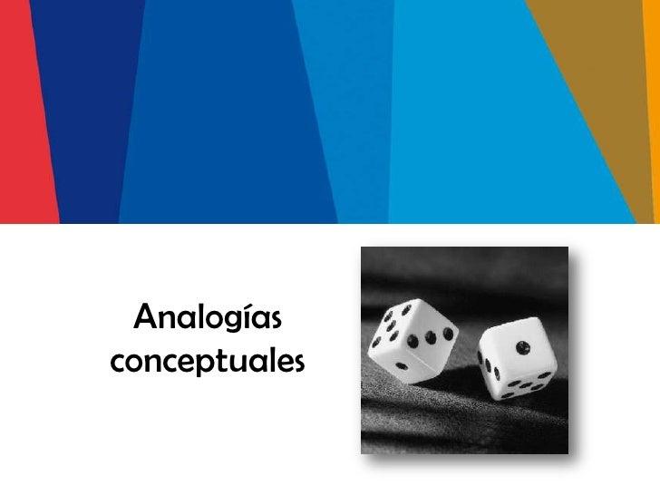 Analogíasconceptuales