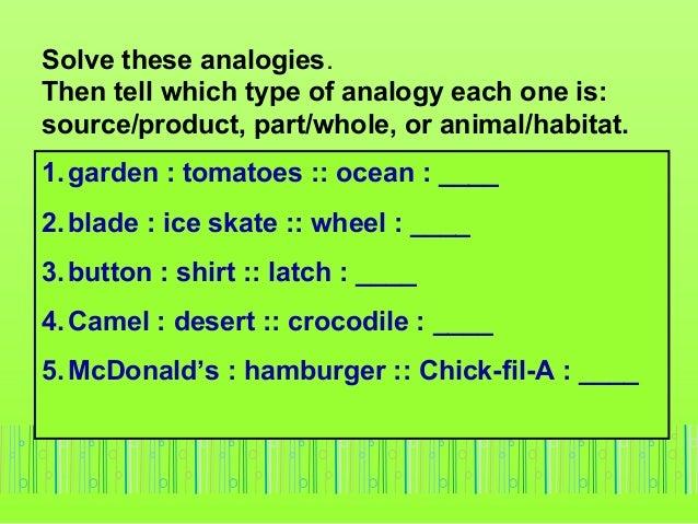 Analogies 1-six-types-of-analogies