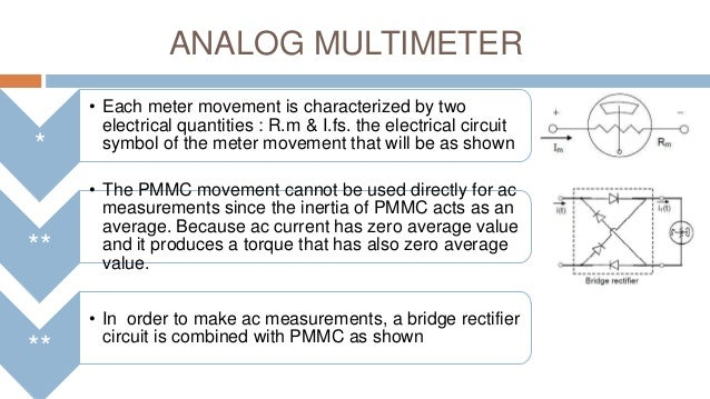 Analog Multimeter And Ohmmeter