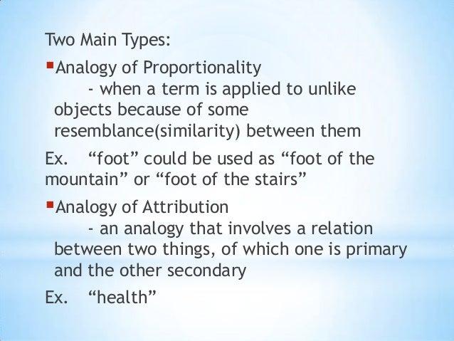 Analogous Term