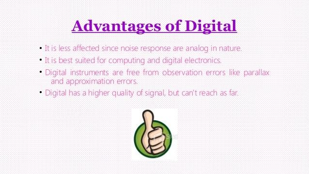 Analogue And Digital