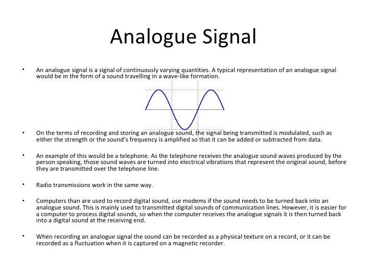 Analog Digital Definition