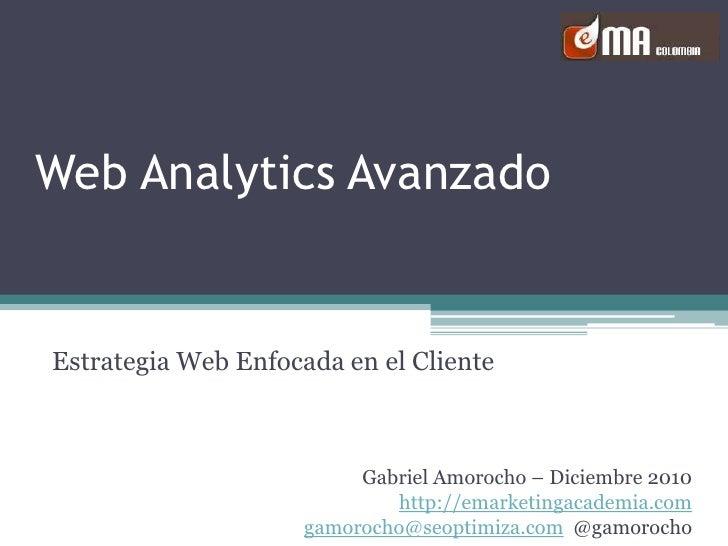 Analíticas Web Avanzadas