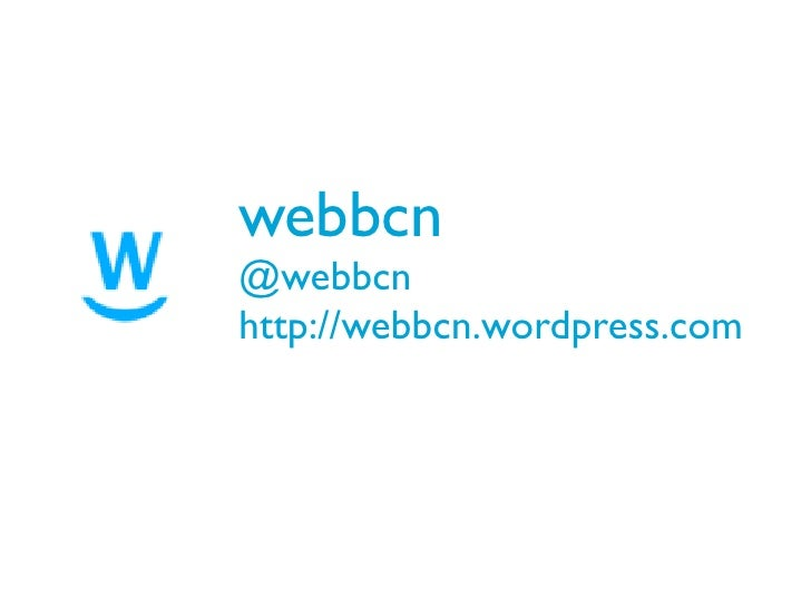 webbcn@webbcnhttp://webbcn.wordpress.com