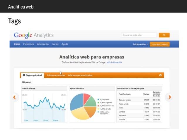 Analítica web Tags
