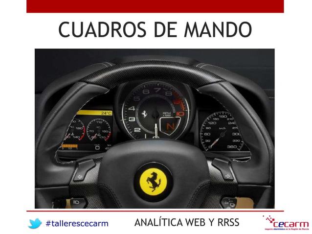 #tallerescecarm ANALÍTICA WEB Y RRSS CUADROS DE MANDO