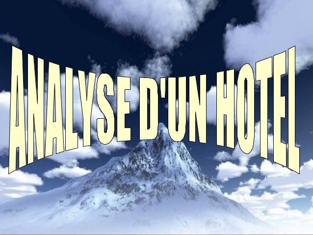 1-Définition:1-Définition: L'hôtel de tourisme est un établissementL'hôtel de tourisme est un établissement commercial d'...