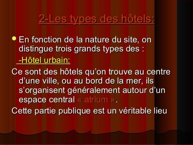 Analyse Dun Hôtel