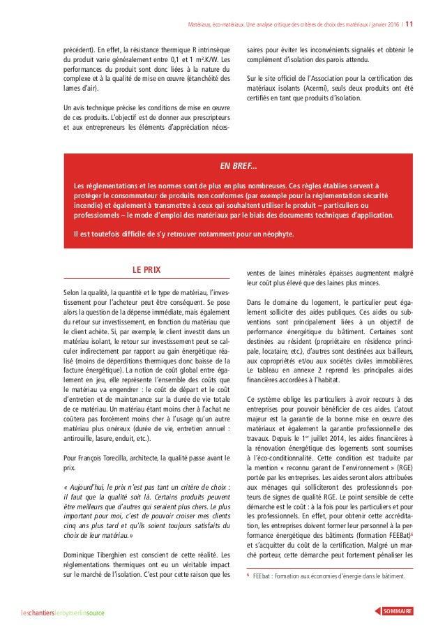 Analyse critique des crit res de choix des mat riaux leroy merlin - Cle a choc electrique leroy merlin ...