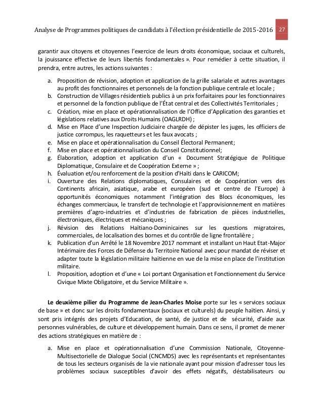 Analyse des programmes de 4 candidats les jjjj - Grille salariale fonction publique hospitaliere ...