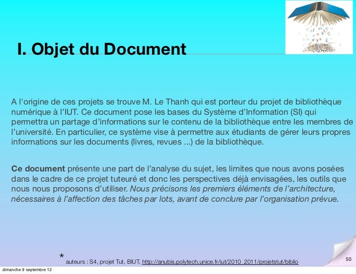 Analyse Et Cahier Des Charges