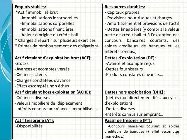 53 Emplois stables: *Actif immobilisé brut -Immobilisations incorporelles -Immobilisations corporelles -Immobilisations fi...