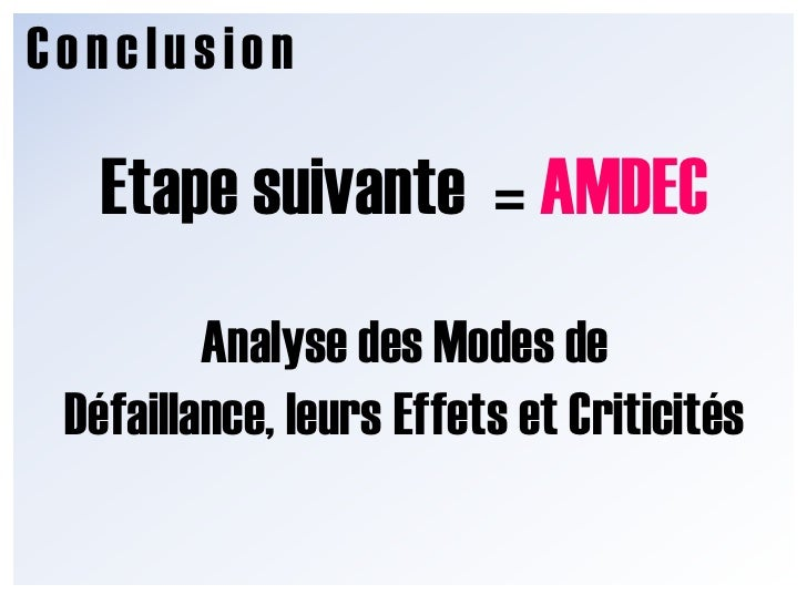 Conclusion<br />Besoinclient<br />Analyse FonctionnelleExterne<br />FonctionsExternes (CdCF)<br />Analyse Fonctionnelle In...