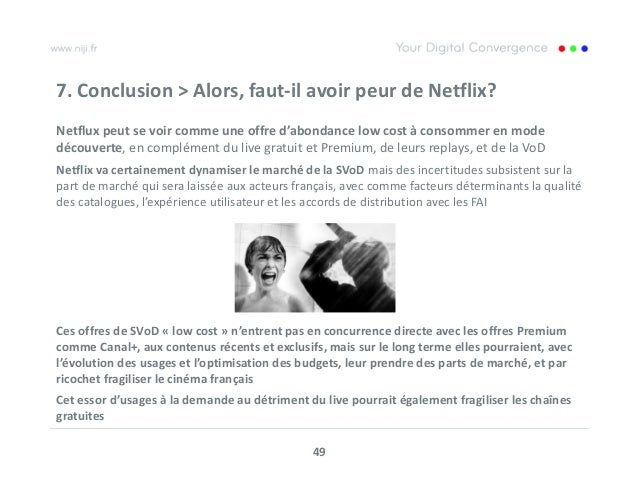 analyse par niji de l impact de netflix sur le march fran ais. Black Bedroom Furniture Sets. Home Design Ideas
